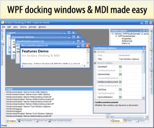 Docking for WPF